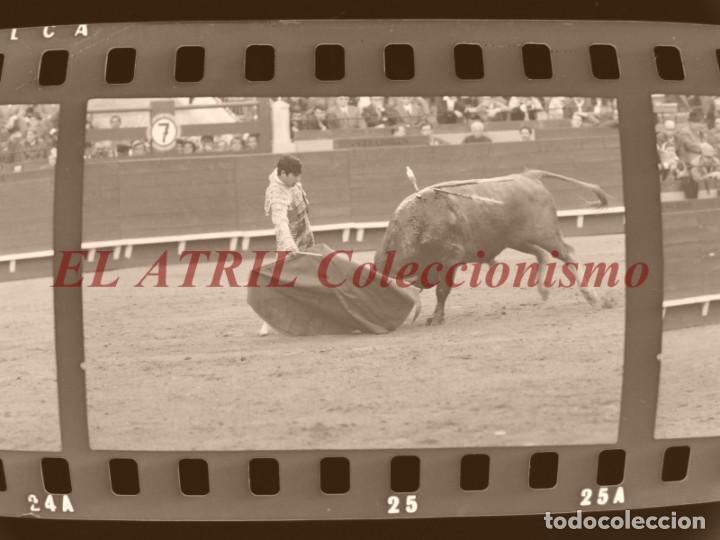 Tauromaquia: VALENCIA TOROS FALLAS AÑO 1965, 33 CLICHES NEGATIVOS DE 35 mm EN CELULOIDE, PUERTA, CAMINO, MACARENO - Foto 51 - 210670572