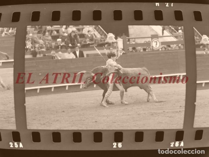 Tauromaquia: VALENCIA TOROS FALLAS AÑO 1965, 33 CLICHES NEGATIVOS DE 35 mm EN CELULOIDE, PUERTA, CAMINO, MACARENO - Foto 53 - 210670572