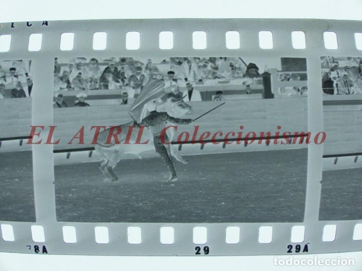 Tauromaquia: VALENCIA TOROS FALLAS AÑO 1965, 33 CLICHES NEGATIVOS DE 35 mm EN CELULOIDE, PUERTA, CAMINO, MACARENO - Foto 62 - 210670572