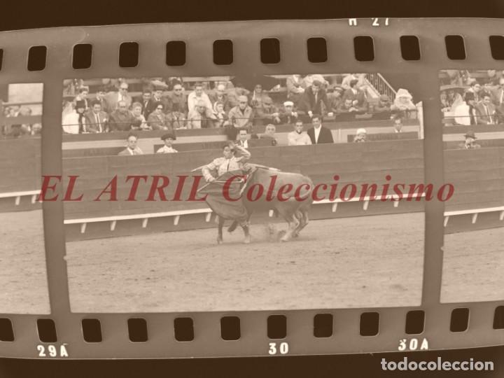 Tauromaquia: VALENCIA TOROS FALLAS AÑO 1965, 33 CLICHES NEGATIVOS DE 35 mm EN CELULOIDE, PUERTA, CAMINO, MACARENO - Foto 63 - 210670572