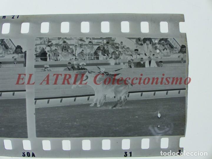 Tauromaquia: VALENCIA TOROS FALLAS AÑO 1965, 33 CLICHES NEGATIVOS DE 35 mm EN CELULOIDE, PUERTA, CAMINO, MACARENO - Foto 66 - 210670572