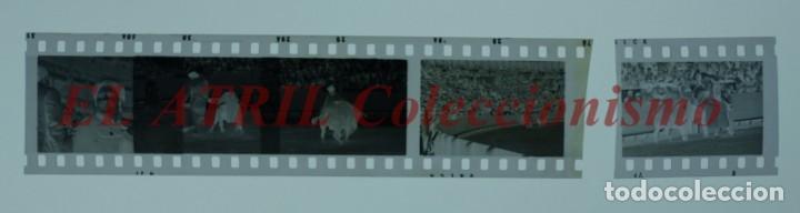 Tauromaquia: VALENCIA TOROS FALLAS AÑO 1965, 33 CLICHES NEGATIVOS DE 35 mm EN CELULOIDE, PUERTA, CAMINO, MACARENO - Foto 68 - 210670572