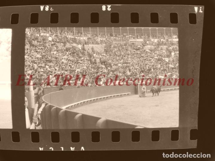 Tauromaquia: VALENCIA TOROS FALLAS AÑO 1965, 33 CLICHES NEGATIVOS DE 35 mm EN CELULOIDE, PUERTA, CAMINO, MACARENO - Foto 71 - 210670572