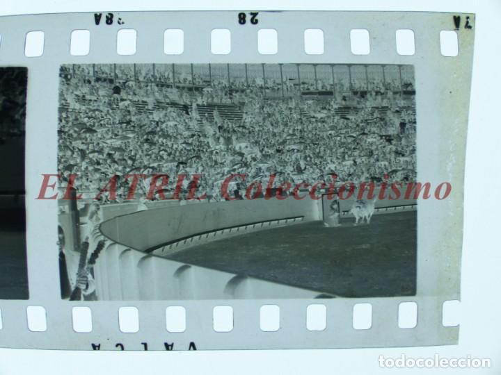 Tauromaquia: VALENCIA TOROS FALLAS AÑO 1965, 33 CLICHES NEGATIVOS DE 35 mm EN CELULOIDE, PUERTA, CAMINO, MACARENO - Foto 72 - 210670572