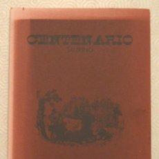 Tauromaquia: CENTENARIO - ENRIQUE ASÍN CORMAN - 1993 - CURIOSIDADES DE LOS TOROS - TAUROMAQUIA. Lote 211273595