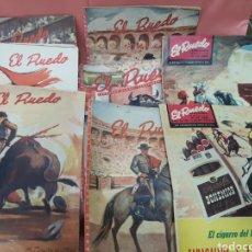 Tauromaquia: EL RUEDO .18 REVISTAS .. Lote 211765968