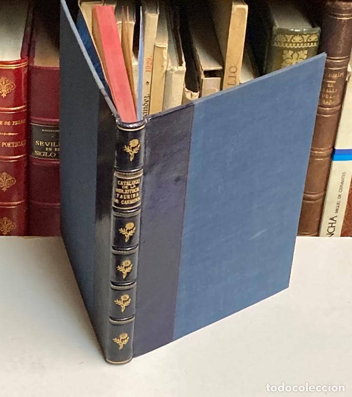 Tauromaquia: AÑO 1903 - CATÁLOGO DE LA BIBLIOTECA TAURINA DE LUIS CARMENA Y MILLÁN - TOROS BIBLIOGRAFÍA - Foto 2 - 211804785