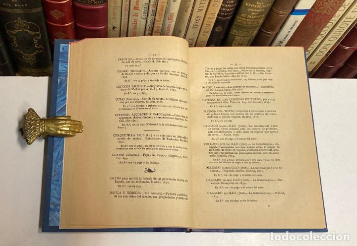 Tauromaquia: AÑO 1903 - CATÁLOGO DE LA BIBLIOTECA TAURINA DE LUIS CARMENA Y MILLÁN - TOROS BIBLIOGRAFÍA - Foto 4 - 211804785