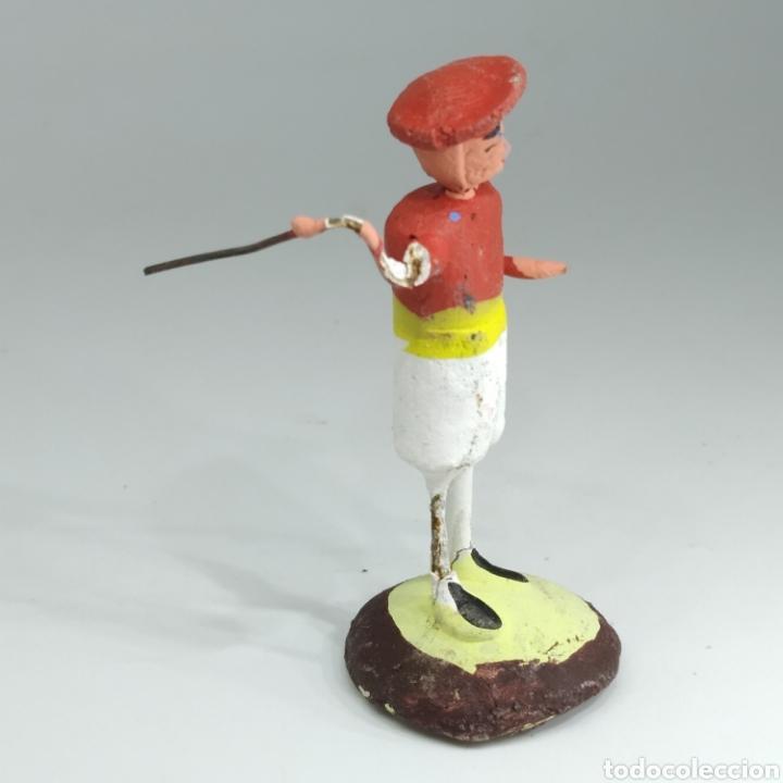 Tauromaquia: Preciosa colección taurina, figuras de barro y alambre, toreros, picadores, mulillas, años 50-60 - Foto 16 - 212177837