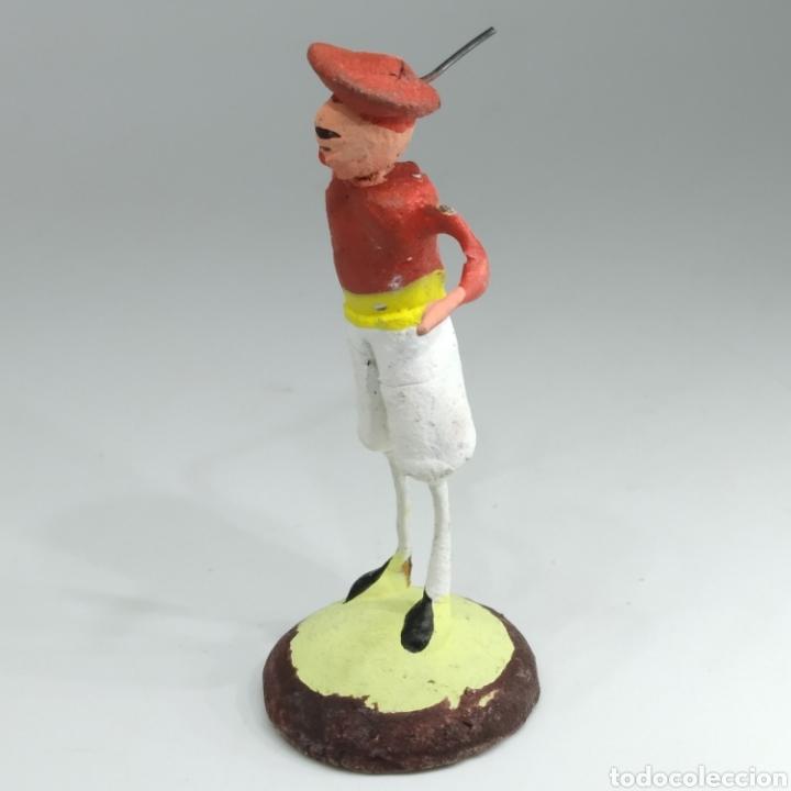 Tauromaquia: Preciosa colección taurina, figuras de barro y alambre, toreros, picadores, mulillas, años 50-60 - Foto 21 - 212177837
