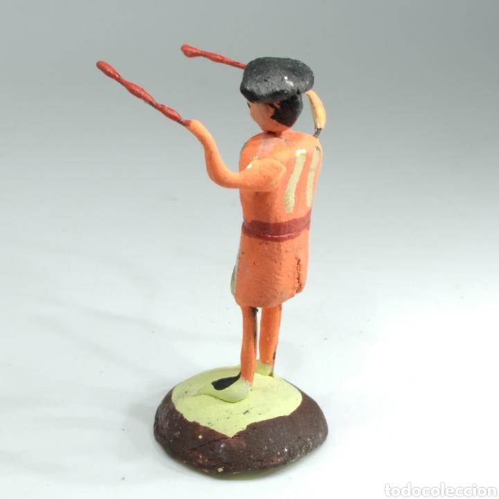 Tauromaquia: Preciosa colección taurina, figuras de barro y alambre, toreros, picadores, mulillas, años 50-60 - Foto 40 - 212177837