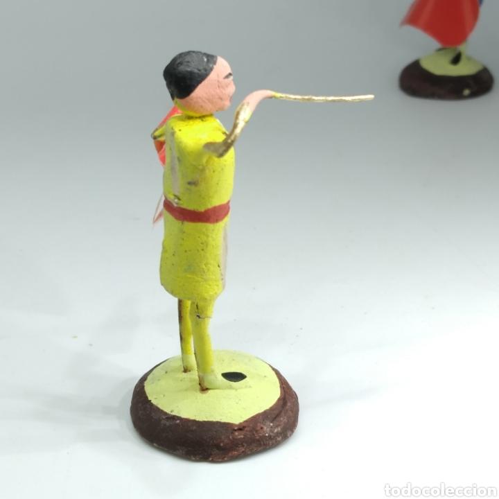 Tauromaquia: Preciosa colección taurina, figuras de barro y alambre, toreros, picadores, mulillas, años 50-60 - Foto 48 - 212177837