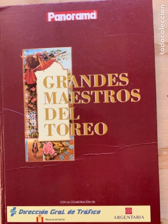 GRANDES MAESTROS DEL TOREO (Coleccionismo - Tauromaquia)