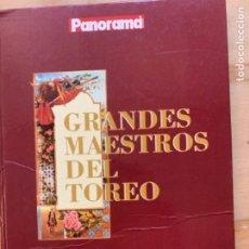 Tauromaquia: GRANDES MAESTROS DEL TOREO. Lote 212390993
