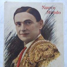 Tauromaquia: REVISTA NUEVO MUNDO RICARDO TORRES ''BOMBITA''. MADRID 23 OCTUBRE 1913. Lote 213818625
