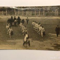 Tauromaquia: TAUROMAQUIA. FOTOGRAFÍA ANTIGUA ZARAGOZA, TARDE DE UNA EMOTIVA BECERRADA.. (DICIEMBRE DE 1917). Lote 214054693