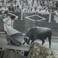 Tauromaquia: EL TINO PLAZA TOROS DE ALICANTE FOTO ORIGINAL INEDITA DE SANCHEZ PASE VERONICA. Lote 214505410