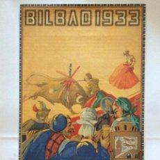Tauromaquia: ISIDORO GUINEA -CARTEL TOROS BILBAO. 1933. Lote 214537476