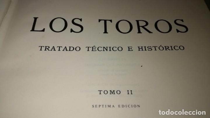 Tauromaquia: LOS TOROS - JOSE Mº DE COSSIO - 2 TRATADO TECNICO HISTORICO - ESPASA TAUROMAQUIA A503 - Foto 4 - 215952080