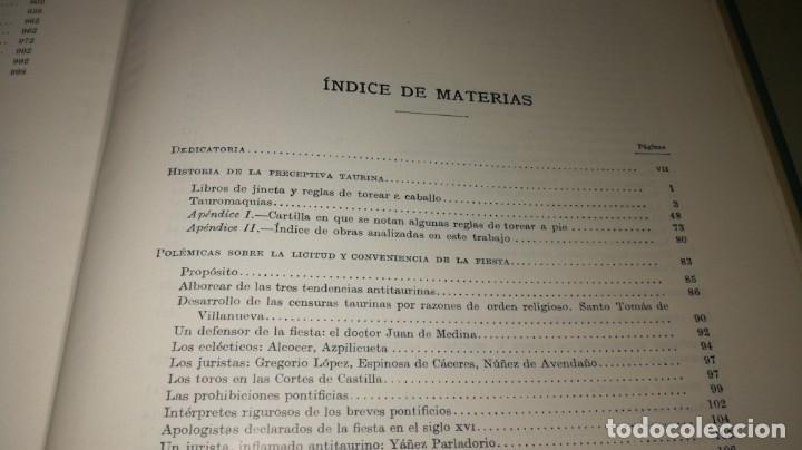 Tauromaquia: LOS TOROS - JOSE Mº DE COSSIO - 2 TRATADO TECNICO HISTORICO - ESPASA TAUROMAQUIA A503 - Foto 16 - 215952080