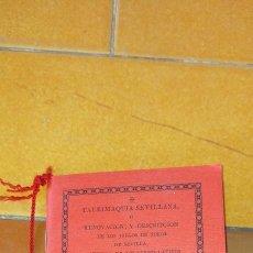 Tauromaquia: TAURIMAQUIA SEVILLANA - FACSIMIL DEL DE 1794 - SEVILLA 1992 TOROS X104. Lote 215953996