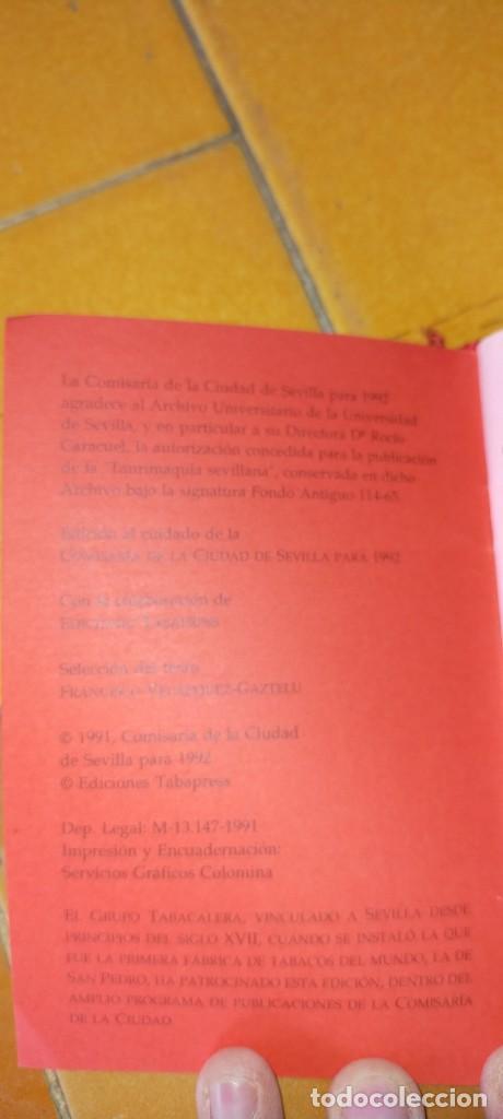 Tauromaquia: TAURIMAQUIA SEVILLANA - FACSIMIL DEL DE 1794 - SEVILLA 1992 TOROS X104 - Foto 3 - 215953996