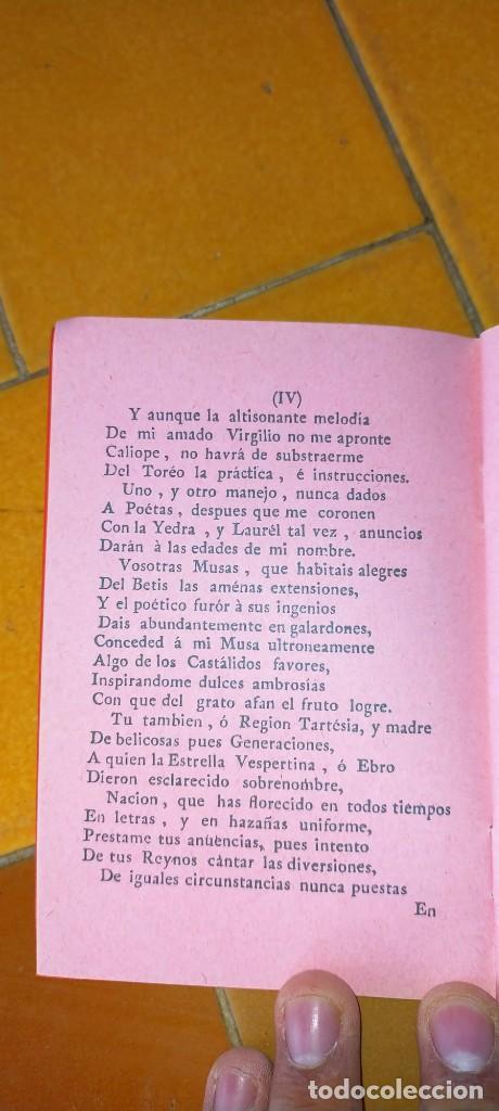 Tauromaquia: TAURIMAQUIA SEVILLANA - FACSIMIL DEL DE 1794 - SEVILLA 1992 TOROS X104 - Foto 7 - 215953996