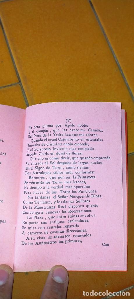 Tauromaquia: TAURIMAQUIA SEVILLANA - FACSIMIL DEL DE 1794 - SEVILLA 1992 TOROS X104 - Foto 8 - 215953996