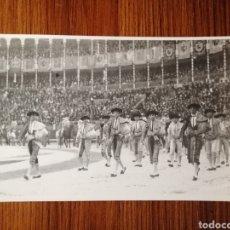 Tauromaquia: CORRIDA PATRIÓTICA MADRID 1921. FOTO ORIGINAL BALDOMERO. GRANERO, CHICUELO, SÁNCHEZ MEJÍAS. TOROS. Lote 216971410