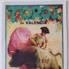 Tauromaquia: FERIA DE JULIO DE 1931. VALENCIA. PROGRAMA DE MANO. DÍPTICO, 21X14 CM (CERRADO). Lote 218238223
