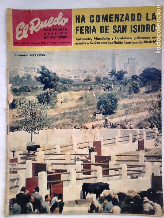Tauromaquia: Lote 19 números revista taurina El Ruedo / TAUROMAQUIA, TOROS, TOREROS - Foto 4 - 184489435