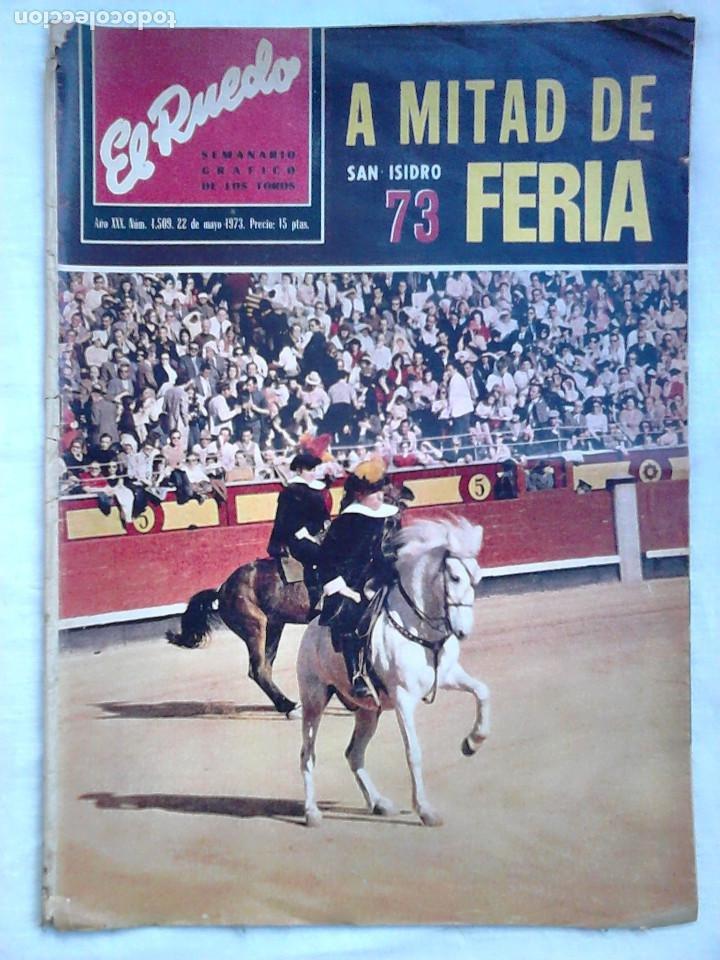 Tauromaquia: Lote 19 números revista taurina El Ruedo / TAUROMAQUIA, TOROS, TOREROS - Foto 5 - 184489435