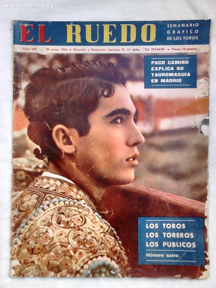Tauromaquia: Lote 19 números revista taurina El Ruedo / TAUROMAQUIA, TOROS, TOREROS - Foto 6 - 184489435