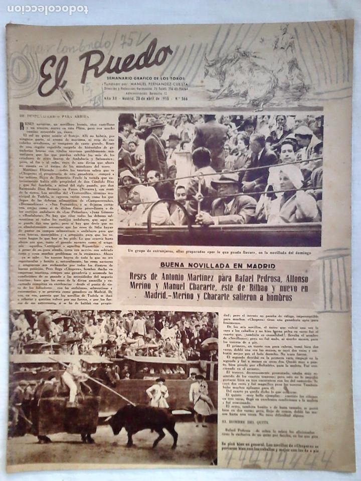 Tauromaquia: Lote 19 números revista taurina El Ruedo / TAUROMAQUIA, TOROS, TOREROS - Foto 7 - 184489435