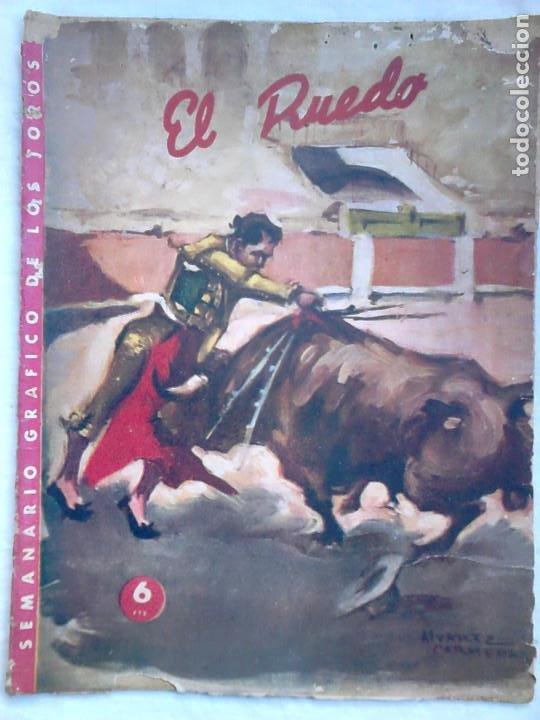 Tauromaquia: Lote 19 números revista taurina El Ruedo / TAUROMAQUIA, TOROS, TOREROS - Foto 8 - 184489435