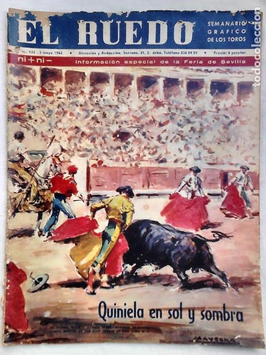 Tauromaquia: Lote 19 números revista taurina El Ruedo / TAUROMAQUIA, TOROS, TOREROS - Foto 9 - 184489435