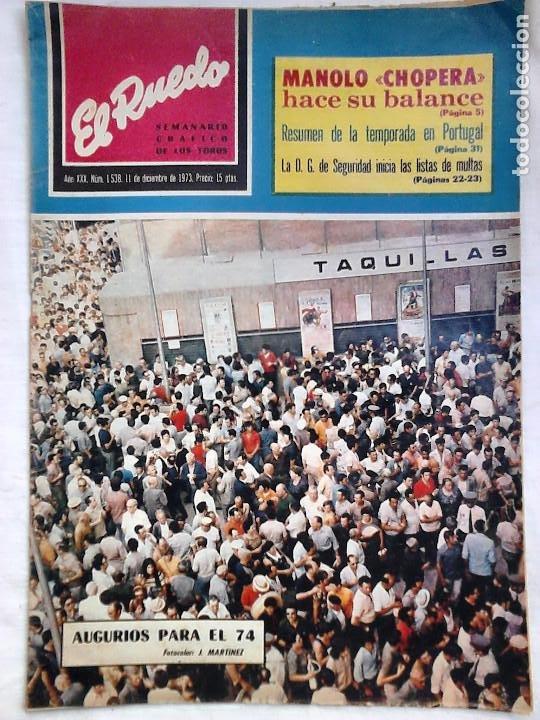 Tauromaquia: Lote 19 números revista taurina El Ruedo / TAUROMAQUIA, TOROS, TOREROS - Foto 10 - 184489435