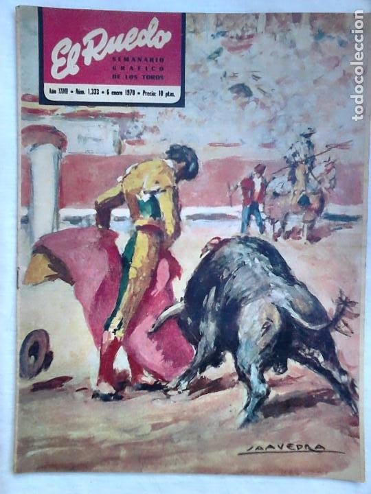 Tauromaquia: Lote 19 números revista taurina El Ruedo / TAUROMAQUIA, TOROS, TOREROS - Foto 11 - 184489435