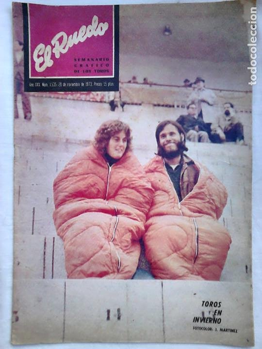 Tauromaquia: Lote 19 números revista taurina El Ruedo / TAUROMAQUIA, TOROS, TOREROS - Foto 12 - 184489435