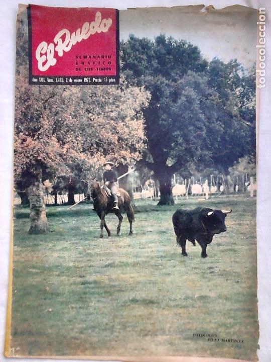 Tauromaquia: Lote 19 números revista taurina El Ruedo / TAUROMAQUIA, TOROS, TOREROS - Foto 14 - 184489435
