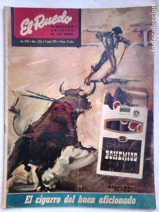 Tauromaquia: Lote 19 números revista taurina El Ruedo / TAUROMAQUIA, TOROS, TOREROS - Foto 15 - 184489435