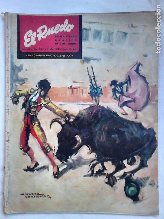 Tauromaquia: Lote 19 números revista taurina El Ruedo / TAUROMAQUIA, TOROS, TOREROS - Foto 16 - 184489435
