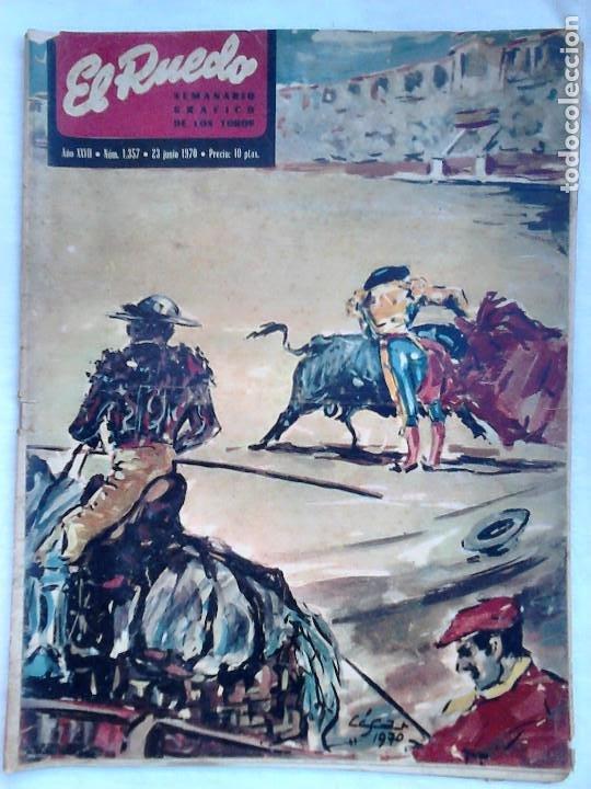 Tauromaquia: Lote 19 números revista taurina El Ruedo / TAUROMAQUIA, TOROS, TOREROS - Foto 17 - 184489435