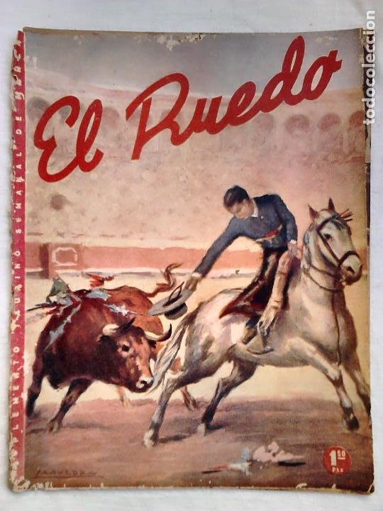 Tauromaquia: Lote 19 números revista taurina El Ruedo / TAUROMAQUIA, TOROS, TOREROS - Foto 18 - 184489435