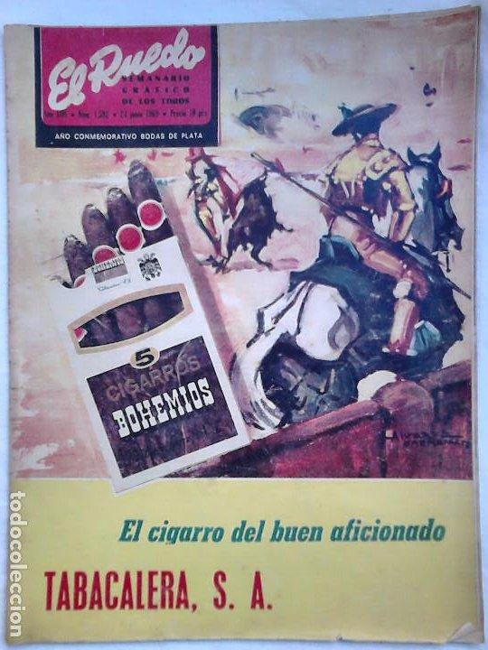 Tauromaquia: Lote 19 números revista taurina El Ruedo / TAUROMAQUIA, TOROS, TOREROS - Foto 19 - 184489435