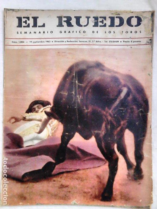 Tauromaquia: Lote 19 números revista taurina El Ruedo / TAUROMAQUIA, TOROS, TOREROS - Foto 20 - 184489435
