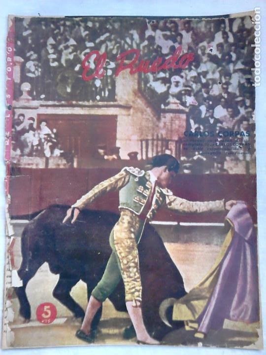 Tauromaquia: Lote 19 números revista taurina El Ruedo / TAUROMAQUIA, TOROS, TOREROS - Foto 21 - 184489435