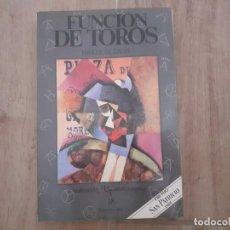 Tauromaquia: FUNCIÓN DE TOROS ENRIQUE GIL CALVO COLECCIÓN TAUROMAQUIA 18.. Lote 219449315