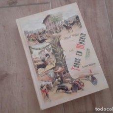 Tauromaquia: LOS TOROS EN MADRID ESTUDIO HISTORICO (FACSIMIL DEL PUBLICADO EN 1890) POR PASCUAL MILLAN. Lote 219516771