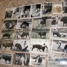 Tauromaquia: COLECCION DE 100 POSTALES FOTOGRAFICAS FOTOGRAFIA DE TOREROS Y ESCENAS DE TOROS AÑOS 50. Lote 220261810